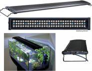 LED AUFSATZLEUCHTE FÜR 150 - 160 CM AQUARIUM 60W / 5.640 LUMEN + Mondlicht