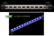 LED LICHTLEISTE 86 CM BLAU, 12 WATT, 300 LUMEN -TAUCHBAR-