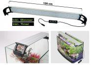 LED Aufsatzleuchte Prisma für Aquarien 100-125 cm - Dimmbar & Zeitschaltuhr 30 Watt