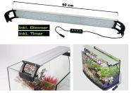 LED Aufsatzleuchte Prisma für Aquarien 80-95 cm - Dimmbar & Zeitschaltuhr 24 Watt