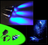 Aquarium Mondlicht, LED 3-fach Spot schwenkbar Komplettset