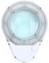 Profi Lupenleuchte, 80 LEDs, 15 Watt / 960 Lumen, 5 Dioptrien, Slimline