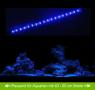 AQUARIUM MONDLICHT, LED LICHTLEISTE 30 CM FLEXI-SLIM BLAU KOMPLETTSET