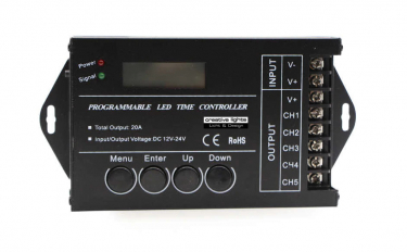LED-TAGESLICHTSIMULATOR 5 KANAL DIMM-CONTROLLER - LED TIME CONTROL