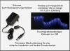 AQUARIUM MONDLICHT, LED LICHTLEISTE 120 CM FLEXI-SLIM BLAU KOMPLETTSET