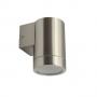 AUSSEN-WANDLEUCHTE MAGRA DOWNLIGHT, INKL. LED STRAHLER 3 WATT, EDELSTAHL IP44 GU10