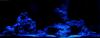 AQUARIUM MONDLICHT, LED LICHTLEISTE 2 x 30 CM FLEXI-SLIM BLAU KOMPLETTSET