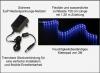 AQUARIUM MONDLICHT, LED LICHTLEISTE 150 CM FLEXI-SLIM BLAU KOMPLETTSET